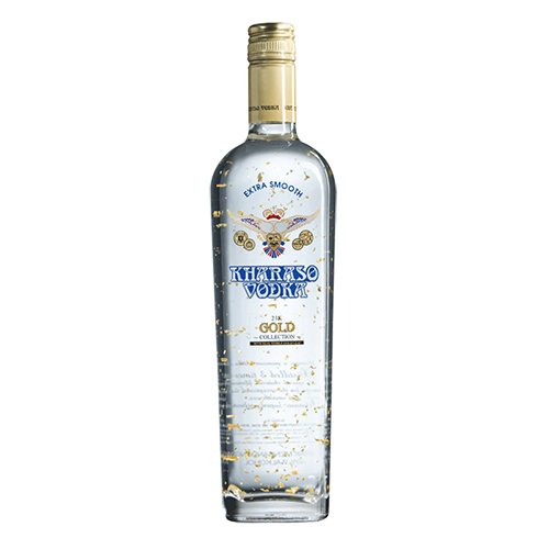 Kharaso Vodka Gold 23K - Winepak
