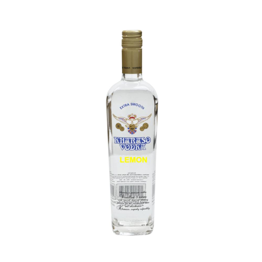 Kharaso Lemon Vodka - Winepak